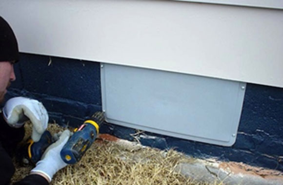 Crawlspace Vent Covers And Doors Crawl Space Encapsulation